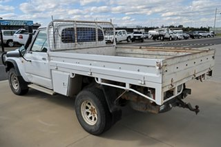1994 Nissan Patrol GQ White 5 Speed Manual Cab Chassis.
