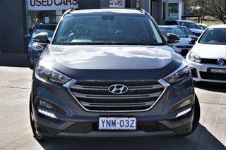 2016 Hyundai Tucson TLe MY17 Highlander AWD Pepper Gray 6 Speed Sports Automatic Wagon.