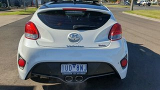 2013 Hyundai Veloster FS3 SR Coupe Turbo White Semi Auto Coupe