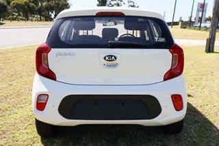 2021 Kia Picanto JA MY22 S (PE) Clear White 4 Speed Automatic Hatchback.