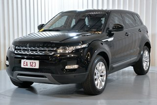 2014 Land Rover Range Rover Evoque L538 MY15 SD4 Pure Black 9 Speed Sports Automatic Wagon.