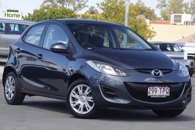 Used Mazda 2 DE10Y1 MY10 Neo Aspley, 2011 Mazda 2 DE10Y1 MY10 Neo Grey 5 Speed Manual Hatchback