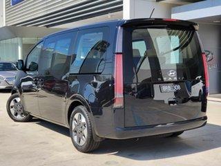 2021 Hyundai Staria US4.V1 MY22 Highlander AWD Blue 8 Speed Sports Automatic Wagon.