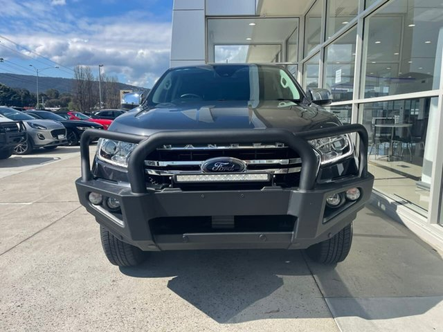 Used Ford Ranger PX MkIII 2019.75MY XLT Hi-Rider Ferntree Gully, 2019 Ford Ranger PX MkIII 2019.75MY XLT Hi-Rider Grey 6 Speed Sports Automatic Double Cab Pick Up