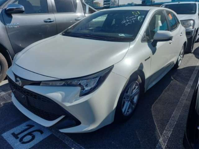 Pre-Owned Toyota Corolla ZWE211R Ascent Sport E-CVT Hybrid Rockingham, 2018 Toyota Corolla ZWE211R Ascent Sport E-CVT Hybrid Crystal Pearl 10 Speed Constant Variable