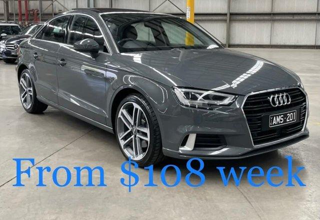 Used Audi A3 8V MY17 Sport S Tronic South Melbourne, 2017 Audi A3 8V MY17 Sport S Tronic Grey 7 Speed Sports Automatic Dual Clutch Sedan