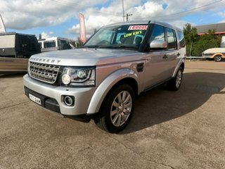 2014 Land Rover Discovery Series 4 L319 MY15 TDV6 Silver 8 Speed Sports Automatic Wagon.