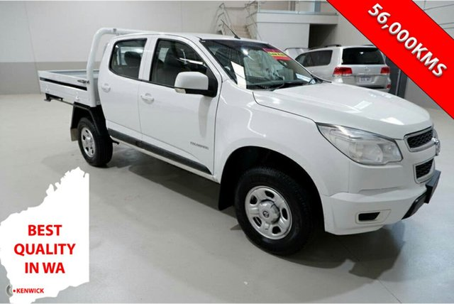 Used Holden Colorado RG MY15 LS Crew Cab 4x2 Kenwick, 2015 Holden Colorado RG MY15 LS Crew Cab 4x2 White 6 Speed Sports Automatic Cab Chassis
