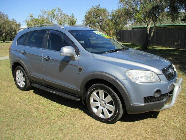Used Holden Captiva CG MY10 LX AWD Kippa-Ring, 2010 Holden Captiva CG MY10 LX AWD Grey 5 Speed Sports Automatic Wagon