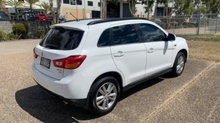 2013 Mitsubishi ASX XB MY14 Aspire (4WD) White 6 Speed Automatic Wagon.