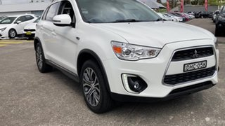 2016 Mitsubishi ASX XB MY15.5 LS 2WD White 6 Speed Constant Variable Wagon