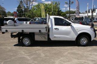 2015 Nissan Navara D23 DX 4x2 White 6 Speed Manual Cab Chassis.