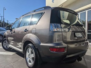 2010 Mitsubishi Outlander ZH MY10 LS Brown 5 Speed Manual Wagon.