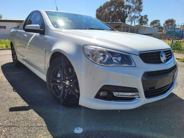 Used Holden Ute VF MY14 SS V Ute Redline Elizabeth, 2014 Holden Ute VF MY14 SS V Ute Redline White 6 Speed Sports Automatic Utility