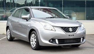 2021 Suzuki Baleno EW Series II GL Silver 4 Speed Automatic Hatchback.