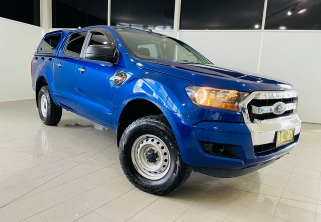 Used Ford Ranger PX MkII XL Hi-Rider Deer Park, 2016 Ford Ranger PX MkII XL Hi-Rider Blue 6 Speed Sports Automatic Utility