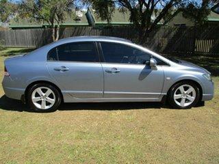 2006 Honda Civic 8th Gen MY07 VTi-L Silver 5 Speed Manual Sedan.