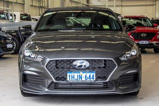 2021 Hyundai i30 PD.V4 MY21 N Line Iron Grey 6 Speed Manual Hatchback.