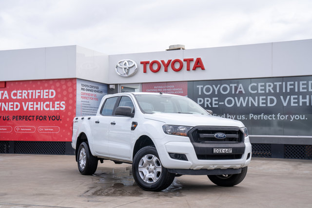 Pre-Owned Ford Ranger PX MkII MY18 XL 2.2 Hi-Rider (4x2) Guildford, 2017 Ford Ranger PX MkII MY18 XL 2.2 Hi-Rider (4x2) White 6 Speed Automatic Crew Cab Pickup