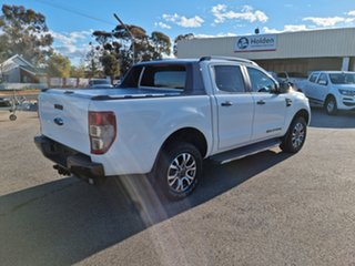 2016 Ford Ranger PX MkII Wildtrak White 6 Speed Automatic Double Cab