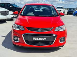 2018 Holden Barina TM MY18 LS Red 6 Speed Automatic Hatchback.