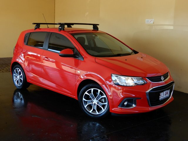 Used Holden Barina TM MY18 LS Toowoomba, 2018 Holden Barina TM MY18 LS Red 6 Speed Automatic Hatchback
