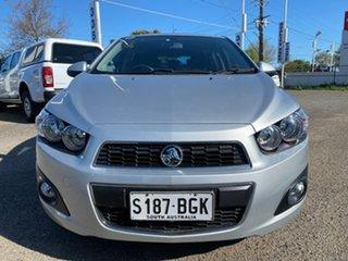2014 Holden Barina TM MY14 CDX Silver 6 Speed Automatic Hatchback.