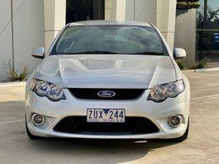 2010 Ford Falcon FG XR6 Silver 6 Speed Sports Automatic Sedan.