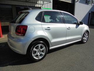 2013 Volkswagen Polo 6R MY13.5 77TSI DSG Comfortline Silver 7 Speed Sports Automatic Dual Clutch
