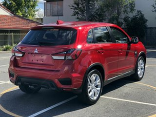 2019 Mitsubishi ASX XD MY20 ES 2WD Red 1 Speed Constant Variable Wagon.