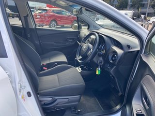 2018 Toyota Yaris NCP131R SX White 4 Speed Automatic Hatchback