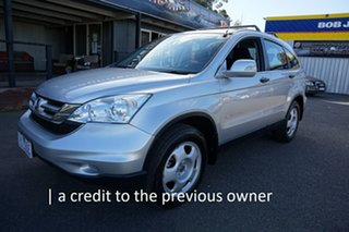 2010 Honda CR-V RE MY2010 4WD Alabaster Silver 5 Speed Automatic Wagon.