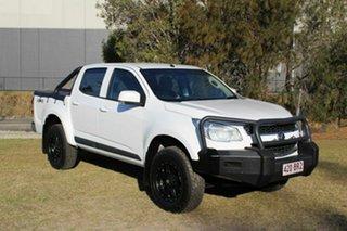 2016 Holden Colorado RG MY16 LS Crew Cab White 6 Speed Manual Utility.