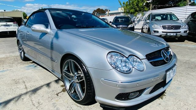 Used Mercedes-Benz CLK-Class A209 CLK320 Avantgarde Maidstone, 2004 Mercedes-Benz CLK-Class A209 CLK320 Avantgarde Silver 5 Speed Automatic Cabriolet