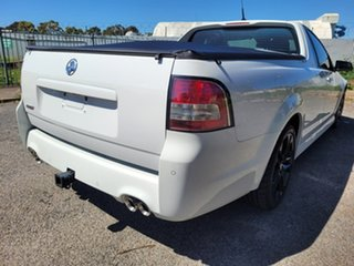 2014 Holden Ute VF MY14 SS V Ute Redline White 6 Speed Sports Automatic Utility.