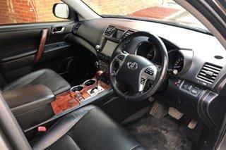 2011 Toyota Kluger GSU45R MY11 Grande AWD Grey 5 Speed Sports Automatic Wagon