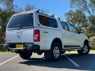 2015 Holden Colorado RG MY16 LS-X Crew Cab White 6 Speed Sports Automatic Utility