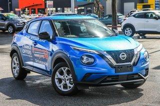 2021 Nissan Juke F16 ST DCT 2WD Vivid Blue 7 Speed Sports Automatic Dual Clutch Hatchback.