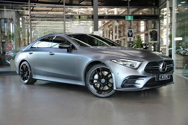 Used Mercedes-Benz CLS-Class C257 CLS53 AMG Coupe 9G-Tronic PLUS 4MATIC+ North Melbourne, 2019 Mercedes-Benz CLS-Class C257 CLS53 AMG Coupe 9G-Tronic PLUS 4MATIC+ Grey 9 Speed