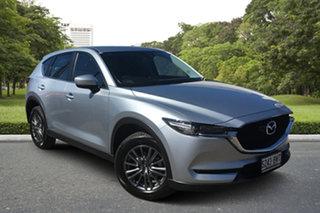 2018 Mazda CX-5 KF2W7A Maxx SKYACTIV-Drive FWD Sport Billet Silver 6 Speed Sports Automatic Wagon.