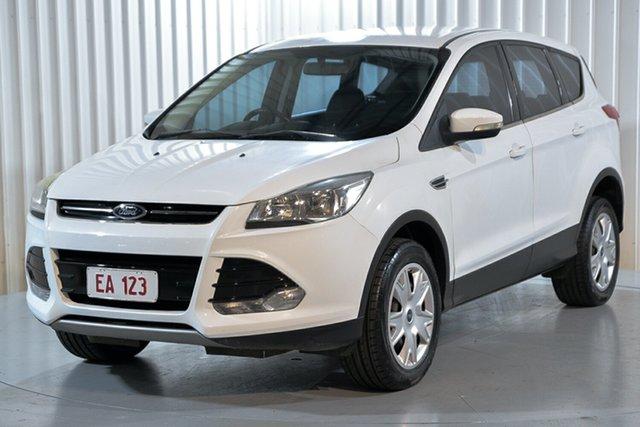 Used Ford Kuga TF MY15 Ambiente AWD Hendra, 2015 Ford Kuga TF MY15 Ambiente AWD White 6 Speed Sports Automatic Wagon