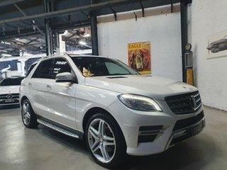 2014 Mercedes-Benz M-Class W166 MY805 ML350 BlueTEC 7G-Tronic + White 7 Speed Sports Automatic Wagon