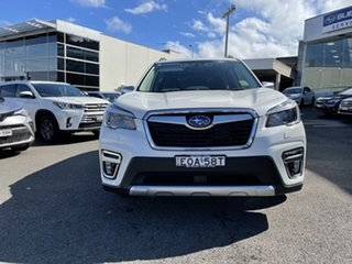 2021 Subaru Forester S5 MY21 Hybrid L CVT AWD Crystal White Pearl 7 Speed Constant Variable Wagon.