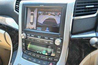 2012 Toyota Alphard ATH20W Black Wagon