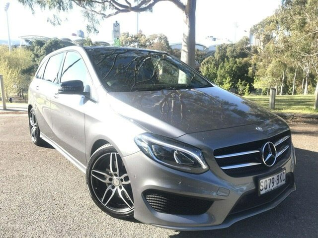 Used Mercedes-Benz B-Class W246 806MY B250 DCT 4MATIC Adelaide, 2016 Mercedes-Benz B-Class W246 806MY B250 DCT 4MATIC Silver 7 Speed Sports Automatic Dual Clutch
