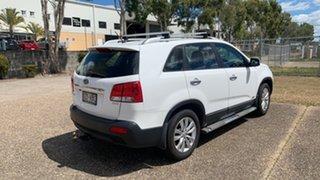 2010 Kia Sorento XM MY11 SLi (4x4) White 6 Speed Automatic Wagon.