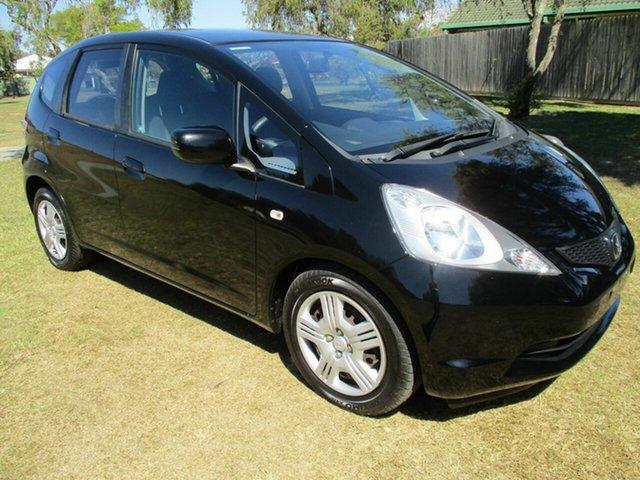 Used Honda Jazz GE MY09 GLi Kippa-Ring, 2009 Honda Jazz GE MY09 GLi Black 5 Speed Automatic Hatchback