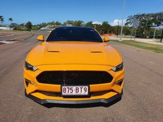 2019 Ford Mustang FN 2019MY GT Orange Fury 10 Speed Sports Automatic Fastback.