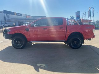 2018 Ford Ranger PX MkII 2018.00MY XLS Double Cab Red/210918 6 Speed Sports Automatic Utility