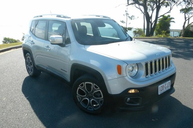 Used Jeep Renegade BU MY16 Limited DDCT Gladstone, 2016 Jeep Renegade BU MY16 Limited DDCT Grey 6 Speed Sports Automatic Dual Clutch Hatchback